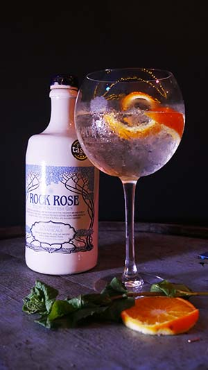 Rock Rose Handcrafted Scottish Gin